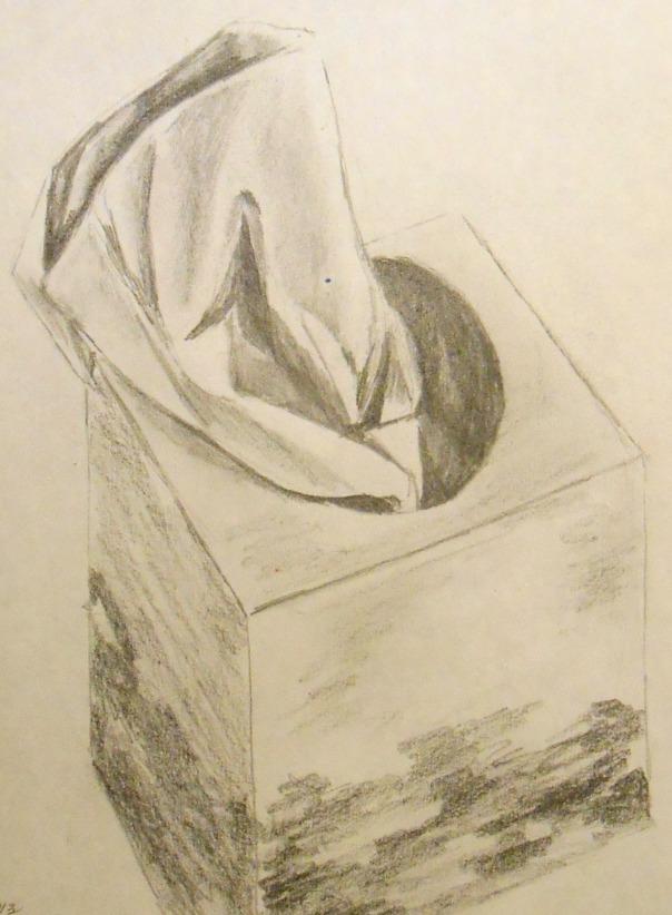 """Sexy Kleenex"" pencil, 2013."