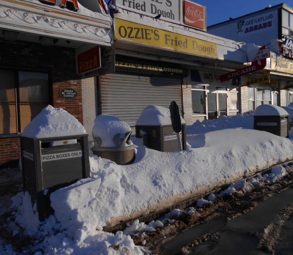 """""""Ozzie's Fried Dough"""". (c)Daryl-Ann Dartt Hurst, 2013. Salisbury got snow and sand."""
