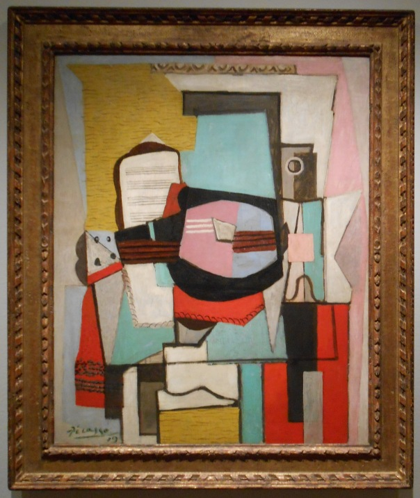 The Guitar, Pablo Picasso @ The Portland Museum of Art, Portland, Maine