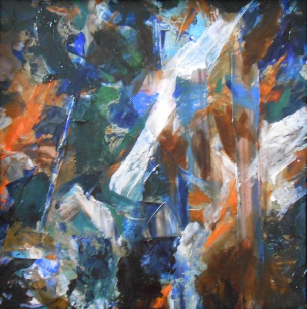 """Meteor"", 2013 (c)Daryl-Ann Hurst, mixed media."
