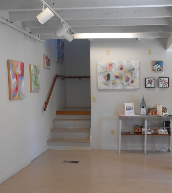 stairway w/ Elaine Menzela