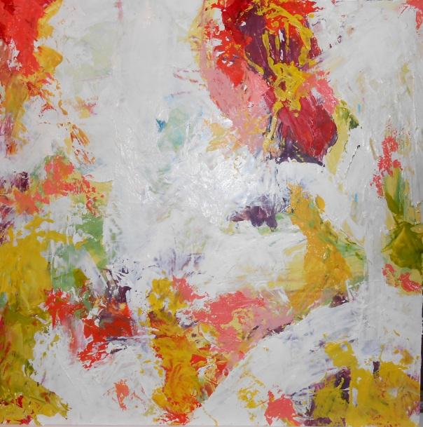 "Mongelati Lazulu 1, (c) Daryl-Ann Dartt Hurst, 2014. MM, 12"" x 12"""