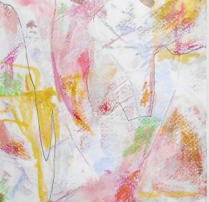 """Play that Funky Music"". MM, 10"" x 10"", framed. (c)Daryl-Ann Hurst, 2014"