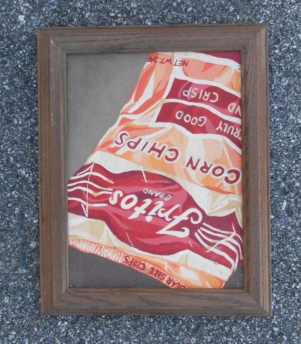 """Truly Good and Crisp"". 1977, 8'x 10"", acrylic on canvas. NFS"