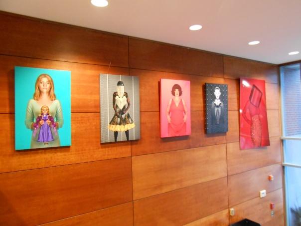 David Mendelsohn's wall