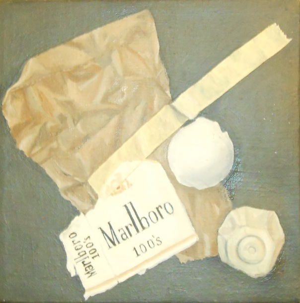 """Untitled"", 1978. (c)Daryl-Ann Dartt Hurst, oil on canvas."