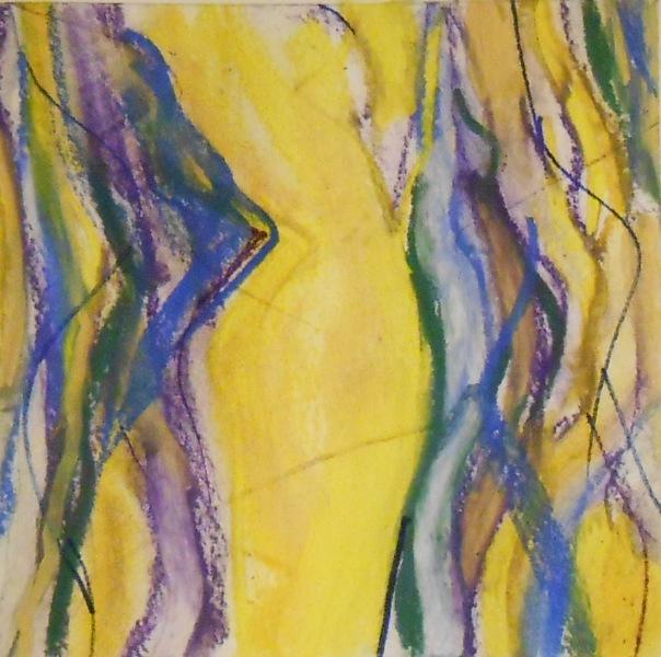 """Venus de Who"", (c) Daryl-Ann Dartt Hurst, 2015, pastel on watercolor paper"