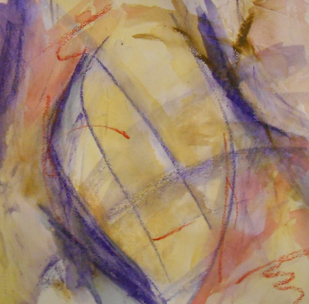 """Personal Storms"", (c)Daryl-Ann Dartt Hurst, MM on paper, 2015"