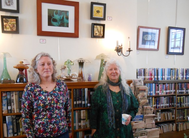 MaryAnne O'Mara and Peggy Brewster at the Gafney